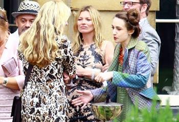 La moda y el rock se unen en la boda de Jade Jagger, hija de Mick Jagger