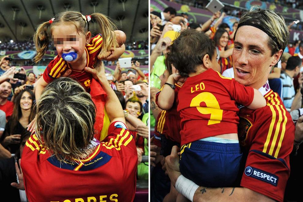 Eurocopa 2012  Torres-hijos--a