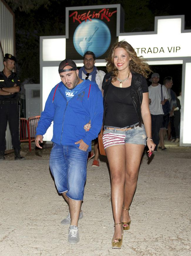 Jessica Bueno, fan número uno de Kiko Rivera, luce embarazo en Rock in Rio Madrid