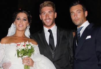 Sergio Ramos, muy feliz en la boda de su hermana: 'Es uno de los días más importantes de mi vida'