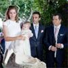 Margarita Vargas y el empresario Miguel Alemán Magnani, padrinos de Bianca, hija de Enrique Ponce y Paloma Cuevas