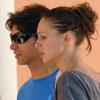 Cayetano Rivera y Eva González, muy sonrientes y enamorados bajo el sol de Cádiz