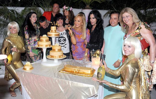La fiesta de la semana en Marbella ha sido el cumpleaños de Carmen Lomana