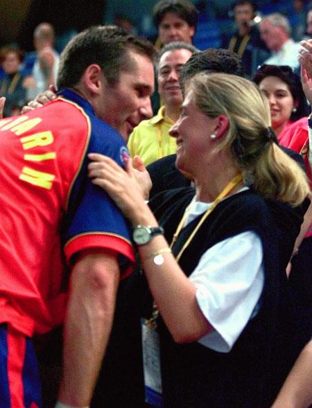 Cristina e Iñaki, Federico y Mary, Federer y Mirka... la llama olímpica del amor