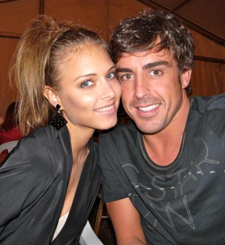 Fernando Alonso y Dasha Kapustina disfrutan de unos días de descanso en Asturias