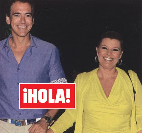 En ¡HOLA!: Terelu Campos celebra su recuperación en familia y con Carlos Pombo, en Marbella