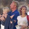 Boris Becker, de vacaciones en España con sus hijos, su mujer y su exmujer