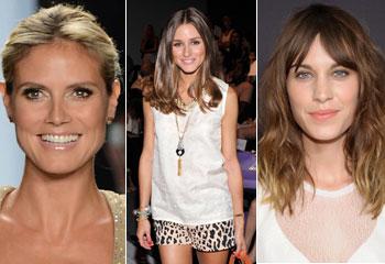 'It girls' y modelos rivalizan en estilo en la semana de la moda de Nueva York