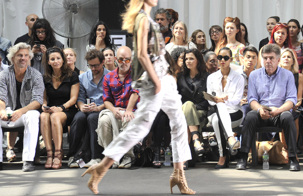 El 'front-row' de la 'New York Fashion Week', otra pasarela de estrellas