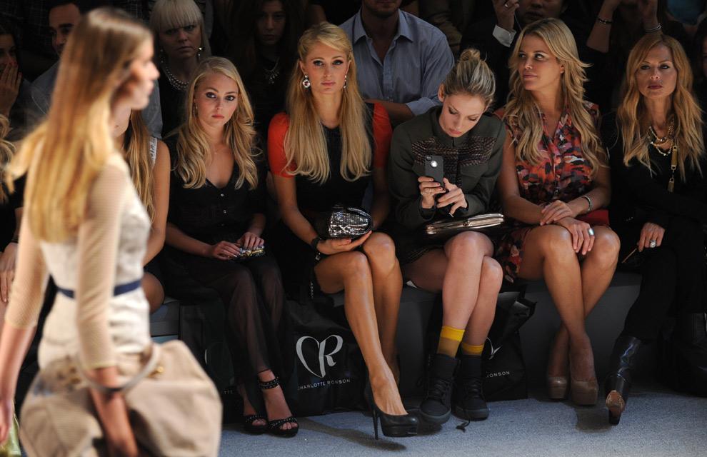 El 'front-row' de la 'New York Fashion Week', otra ...