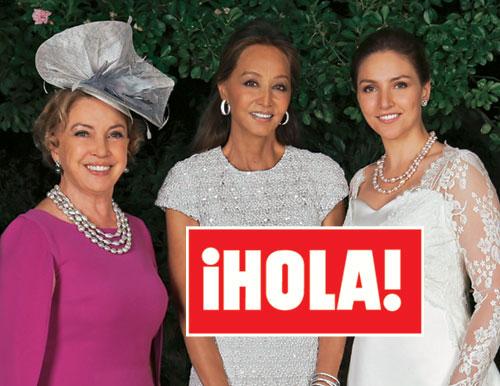 En ¡HOLA!: La elegante boda de Sylvia Schwartz