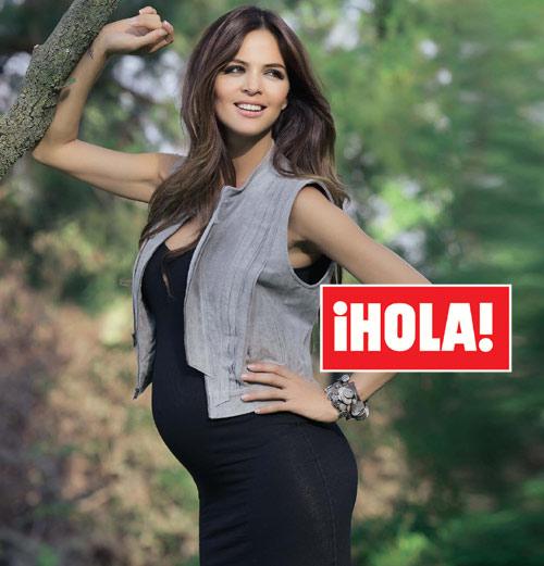 En ¡HOLA!: Romina Belluscio, radiante en el sexto mes de embarazo: '¡Es un niño!'