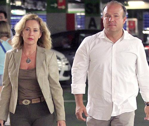 Ana Rodríguez, fin de semana en Toledo con su nueva pareja, Ernesto Manrique