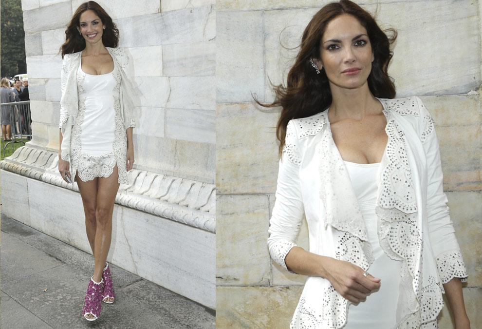 Eugenia Silva, Elizabeth Hurley, Laetitia Casta… se dejan seducir por la moda italiana