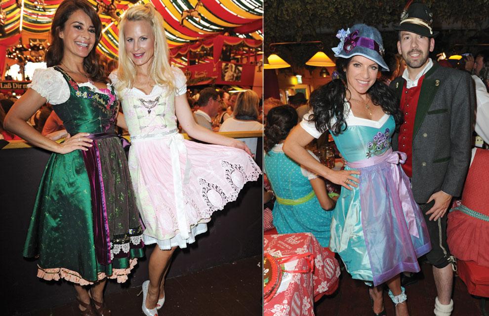 El traje femenino se llama dirndl y puede ser de un solo color f8416eaf08d