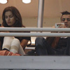 Cristiano Ronaldo e Irina Shayk, una pareja algo 'dispersa' en el Bernabéu