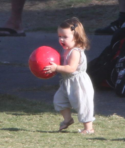 Harper, una nueva futbolista en casa de los Beckham