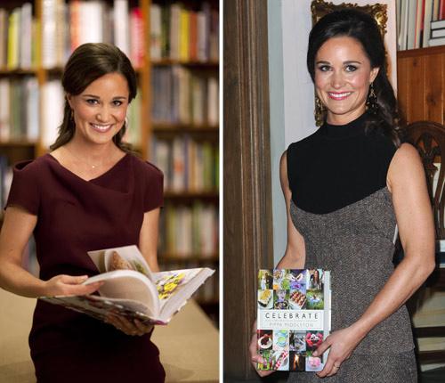 Con cuatro cambios de vestuario, 3.700 euros en ropa y el apoyo de su familia... Pippa Middleton presenta su libro