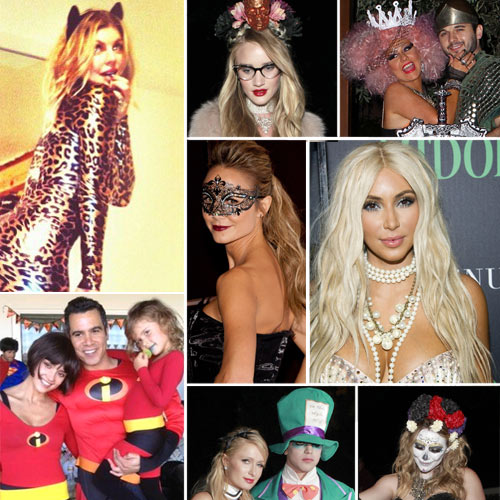 ¡Todo listo para Halloween!... ¿Reconoces a estas 'terroríficas' celebrities?