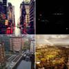 Las 'celebrities' narran en Twitter cómo han vivido el paso del huracán Sandy