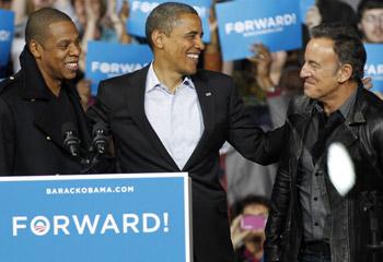 Las 181 estrellas que apoyan a Barack Obama en su reelección como Presidente de Estados Unidos