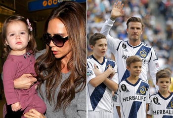 ¡Ganamos! David Beckham, arropado por sus hijos en su despedida de los Galaxy