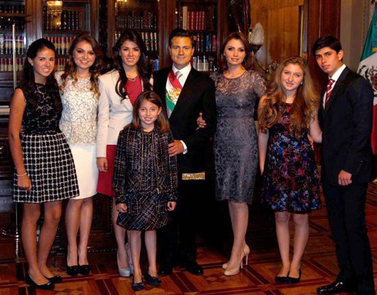 Angélica Rivera, de estrella de telenovela a primera dama de México