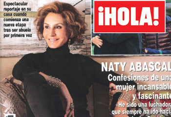 Esta semana en ¡HOLA!: Naty Abascal, confesiones de una mujer incansable y fascinante