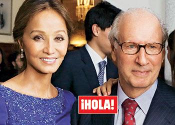 En ¡HOLA!: Isabel Preysler, al cumplir sus bodas de plata con Miguel Boyer: 'Han sido 25 años de mucho amor'