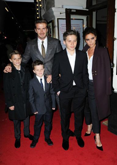 ¡La familia es lo primero! David y Victoria Beckham se instalan en Londres