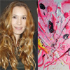 Blanca Cuesta da un paso más en el mundo de la pintura e inaugura su propia exposición