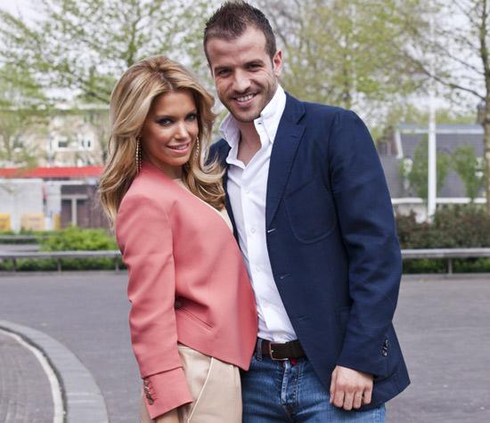 Sylvie y Rafael van der Vaart dan una segunda oportunidad a su matrimonio