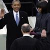 La segunda investidura de Obama foto a foto: 'Dejadme echar una ojeada más… yo no voy a ver esto otra vez'