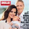 Exclusiva en ¡HOLA!: Guti y Romina, en casa con su hijo, Enzo
