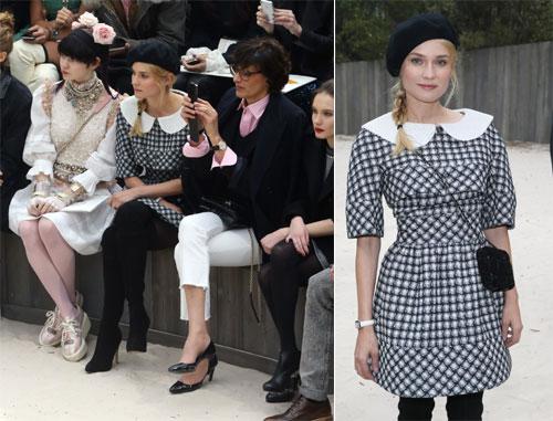 Resbalones, la caza del vestido perfecto... lo que el ojo no ve en la pasarela de París