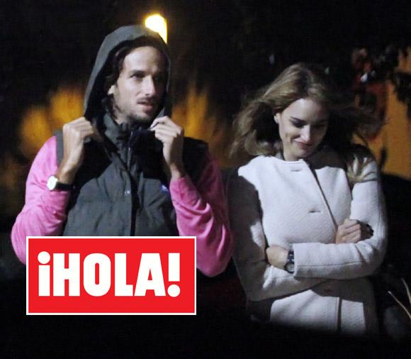 En ¡HOLA!: Alba Carrillo vuelve a sonreír junto a Feliciano López