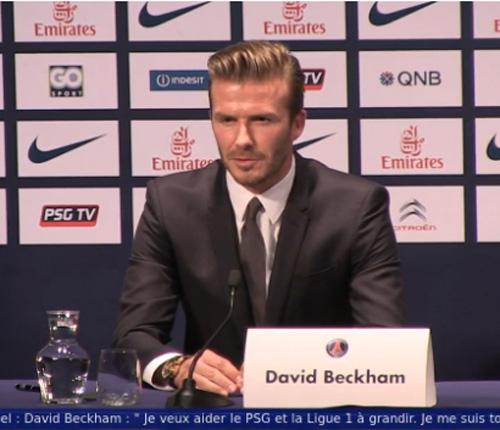 David Beckham jugará en París mientras que su familia continuará en Londres
