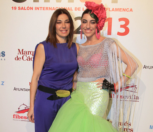 La hija de Raquel Revuelta sigue los pasos de su madre y debuta como modelo en Simof