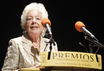 La abuela y la tía abuela de la princesa Letizia, protagonistas de los premios de la radio
