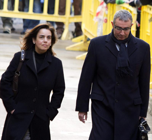 Diego Torres, exsocio de Urdangarín, declara ante el juez por segunda vez por el caso Nóos