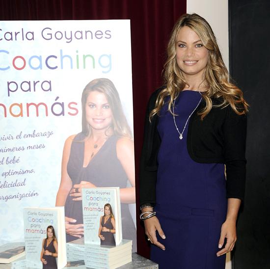 Caritina Goyanes: '¡Es una niña! Estoy muy feliz y se va a llamar como yo'