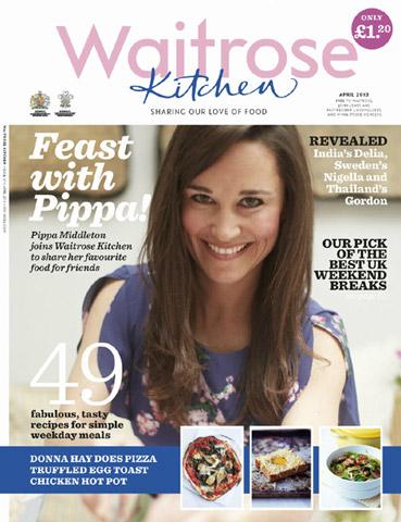 Pippa Middleton se convierte en columnista de una revista culinaria