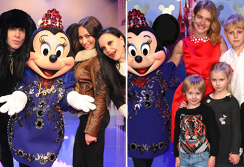 Mario Vaquerizo, Alaska, Natalia Verbeke y Natalia Vodianova, cuatro niños grandes en Disneyland París