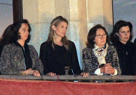 Francisco Rivera y Patricia Rato viven con emoción la Semana Santa de Sevilla