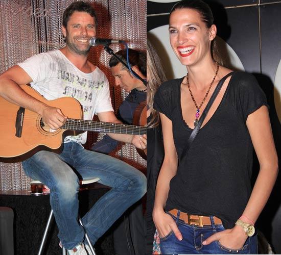 Laura Sánchez, una fan de primera fila que baila al ritmo de su novio, David Ascanio