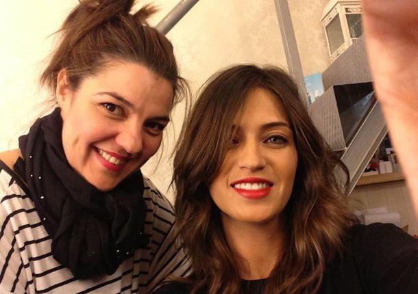 Sara Carbonero derrocha sensualidad en la peluquería