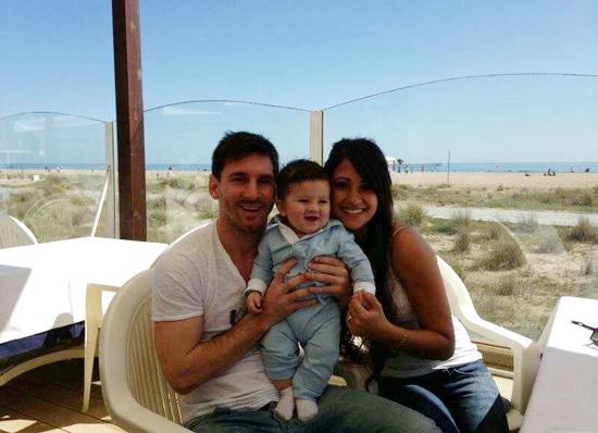 ¡Es igualito a su papá! Leo Messi nos presenta a su hijo Thiago