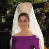 Marina Danko, una colombiana con sabor andaluz: 'Había reservado la mantilla para cuando mi hijo Sebastián se casara'