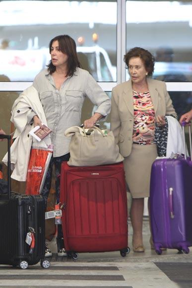 Tras su separación de José Campos, Carmen Martínez-Bordíu se 'escapa' a Miami con su madre