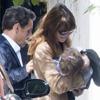 Nicolás Sarkozy se derrite con las dos mujeres de su vida, su mujer y su hija Giulia